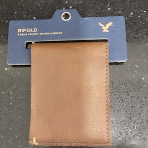 American Eagle leather bifold/wallet